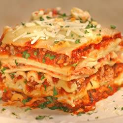 recette lasagnes