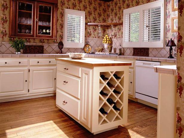 Jackie Glisson - stockage vin cuisine