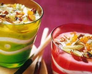 Yaourt aux fruits secs et cannelle