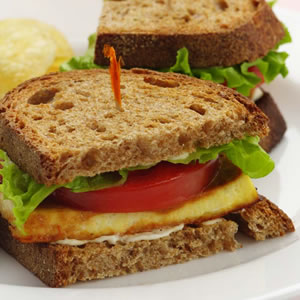 Sandwich-tofu-laitue-tomate