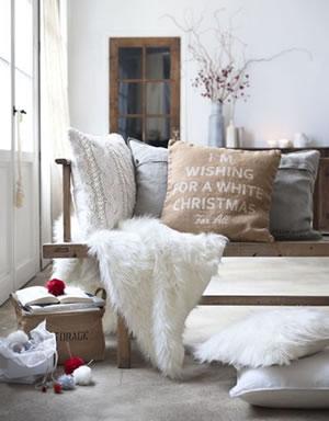 Un canapé confortable pour noel